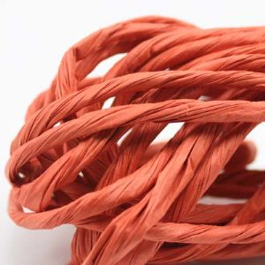Paper ribbon, 4 metres, long Orange-red, (ZTT035)